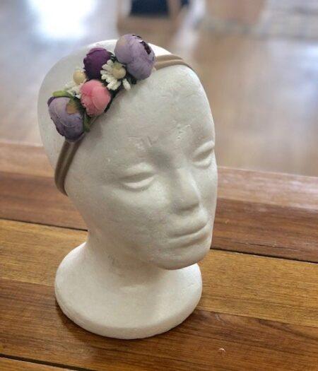 Flower Crown Purple Pink
