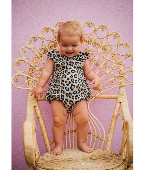 scom leopard scout on baby