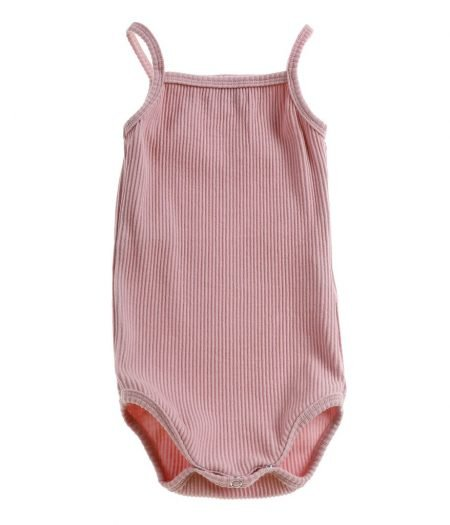 Bonnie & Harlo ribbed singlet pink