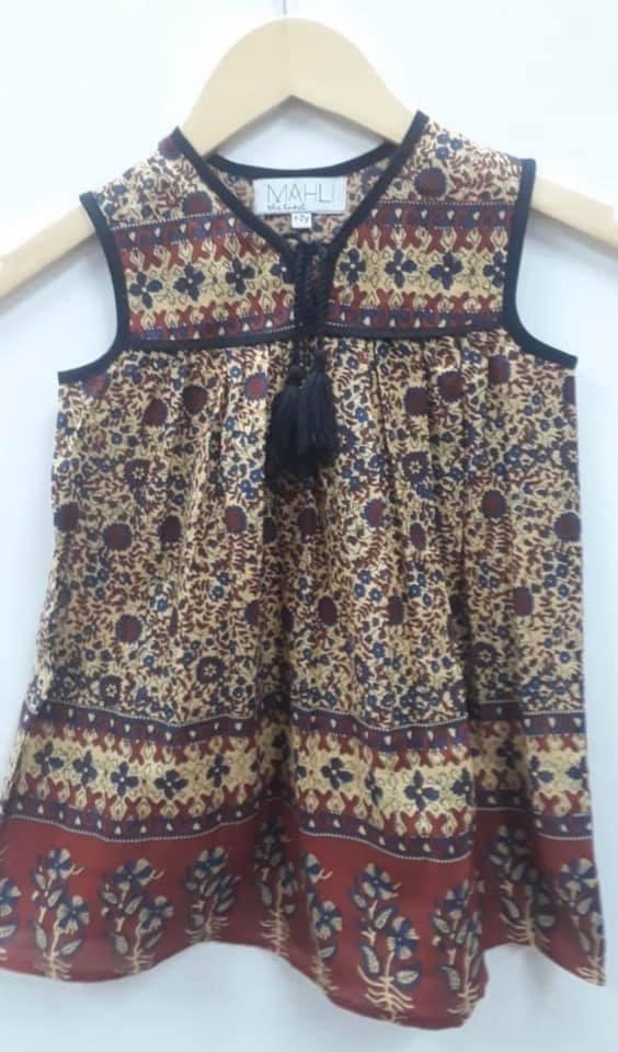 gusy dress brown