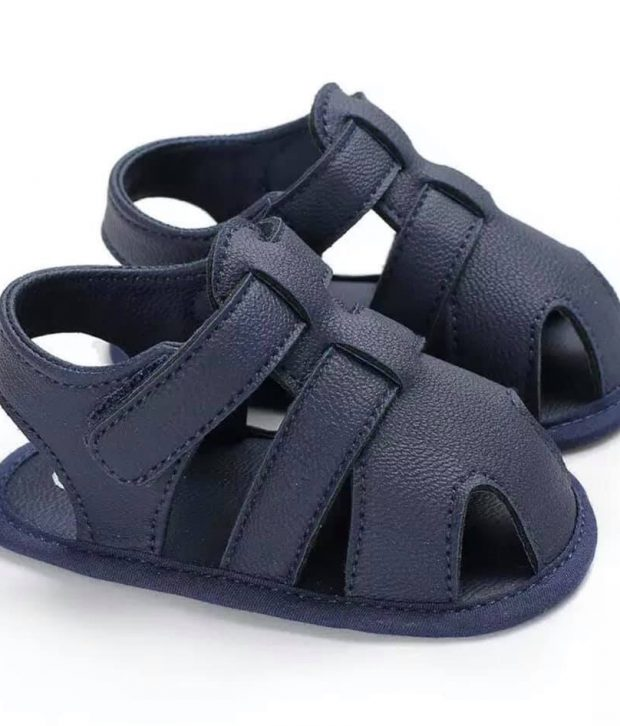Baby Boy Shoes - Brown, Navy, Black