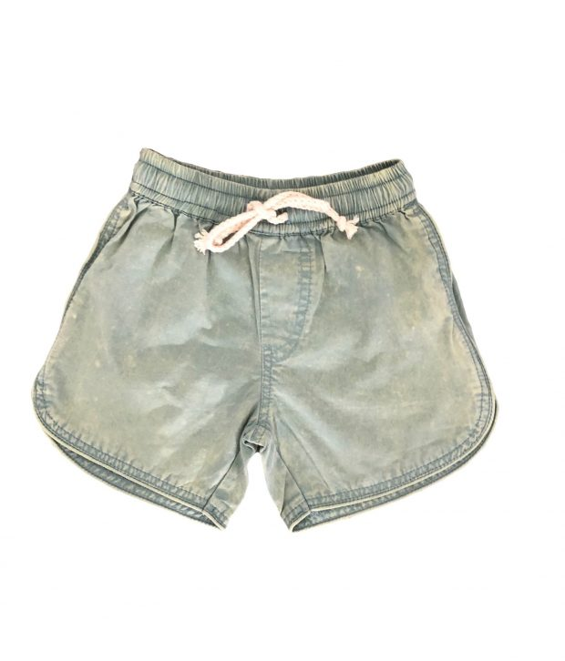 Tully & The Chief Bohdi Shorts Stonewashed Green