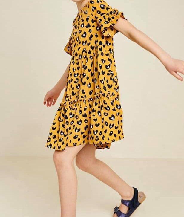 Sunny Dress Leopard - Tween Range