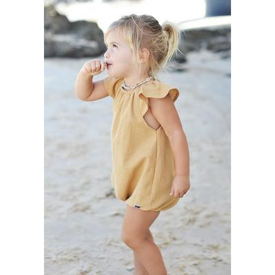 Sweet Child of Mine Scout Romper Old Gold