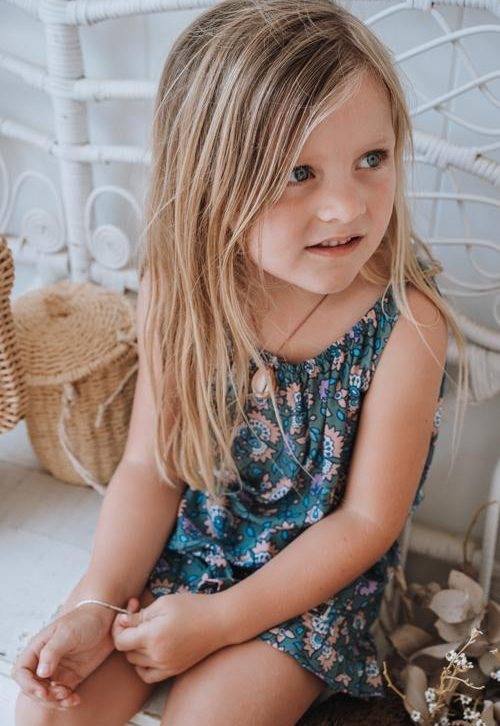 Sweet Child of Mine Butterfly Tank Inca Jade