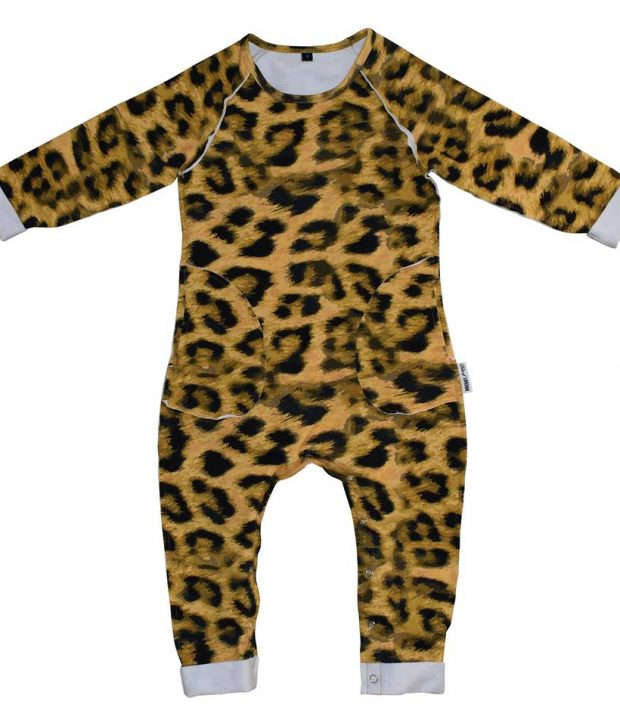 Duke Of London LS leopard romper