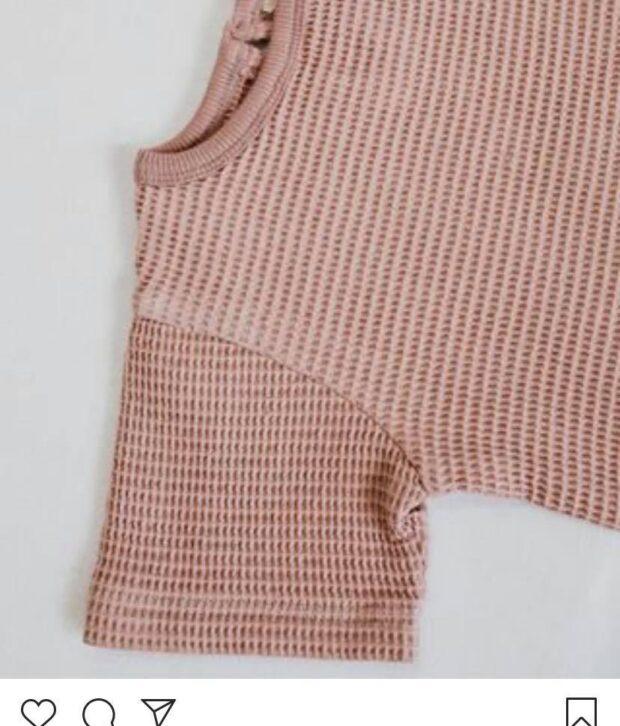 Top Cream/Pink