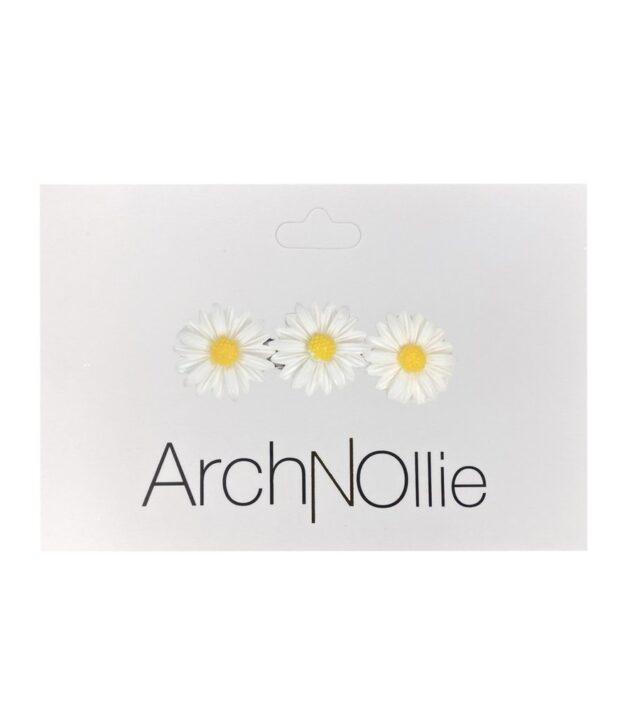 Arch N Ollie Daisy Clip x1 White
