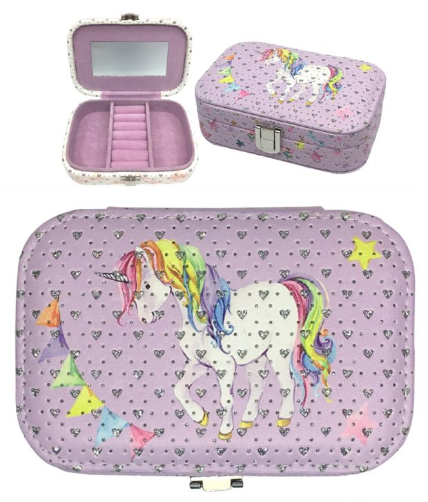 Jewellery Box 15cm Mermaid, Unicorn, Fairy