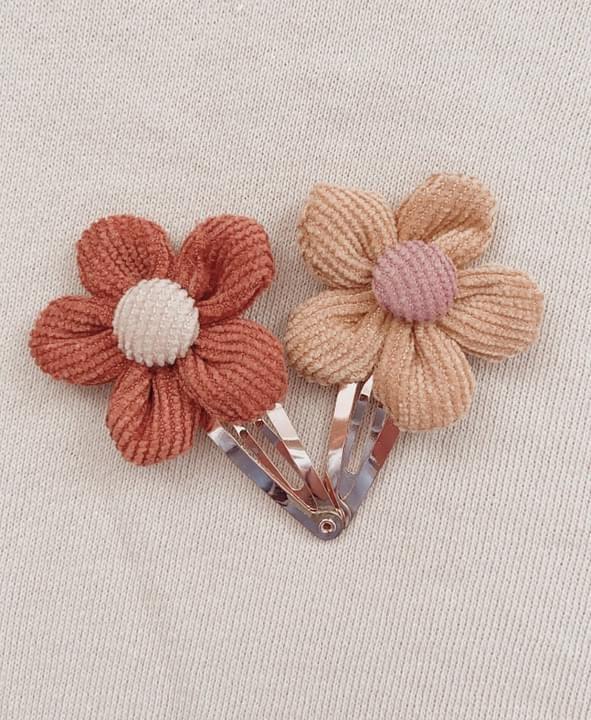 Mae & Rae Indie Flower Clip Set