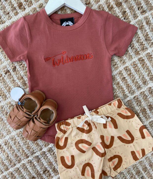 Dukes & Duchesses Sand Sunshine Basic Shorts