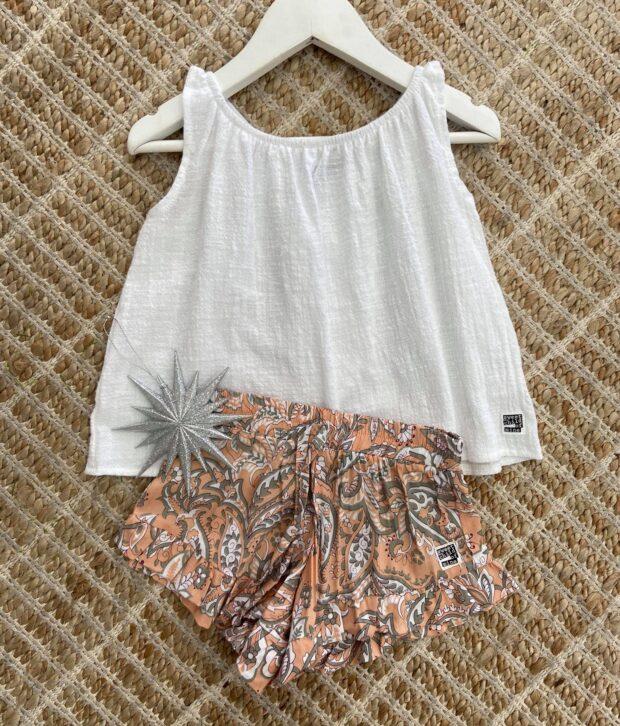 Sweet Child of Mine Bella Shorts Fleur Natural