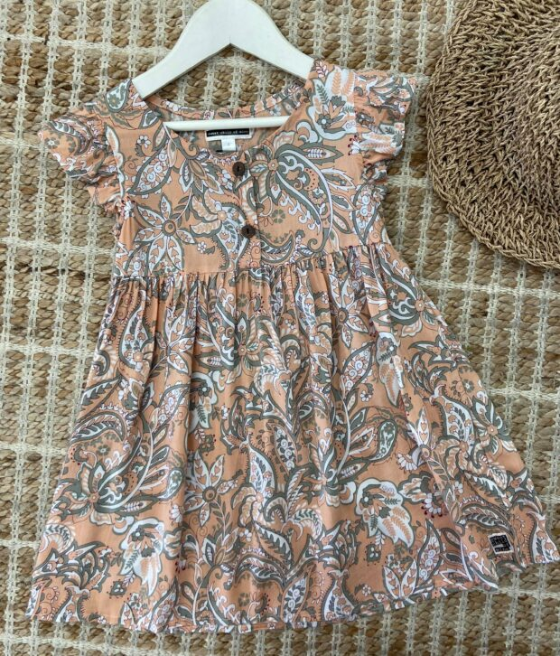 Sweet Child of Mine Baby Doll Dress Fleur Natural
