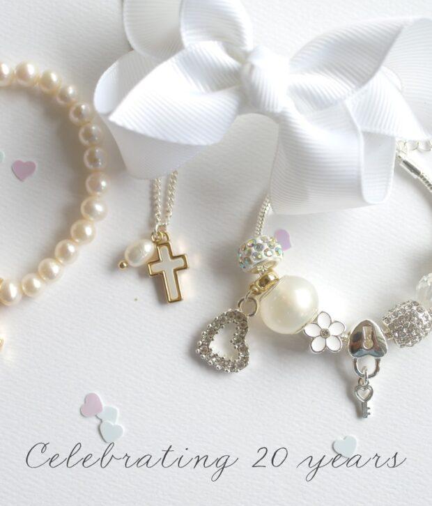 Lauren Hinkley Cross Pendant Necklace with Fresh Water Pearl