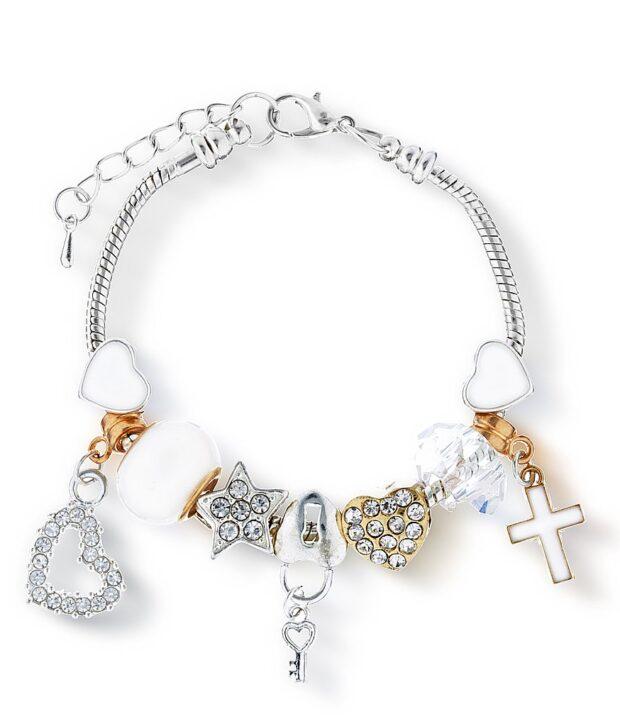 Lauren Hinkley Cross Charm Bracelet