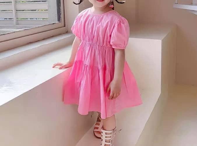 Pink Poppy Tier Dress
