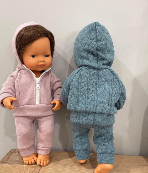 Tracksuits Pink and Blue - Dolls